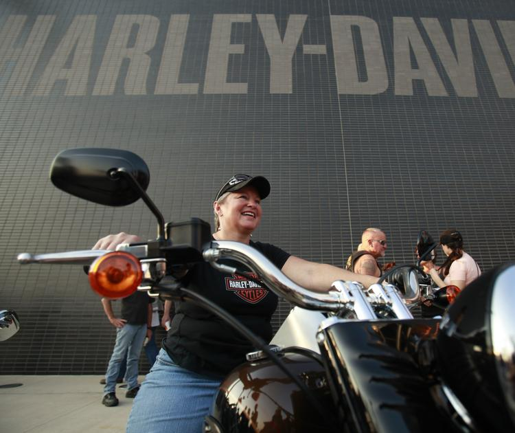 Harley-Davidson commissioned a study to discover the link between motorcycle ownership and a woman's happiness.