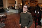 Kevin Keough in his new Downtown Memphis cafe