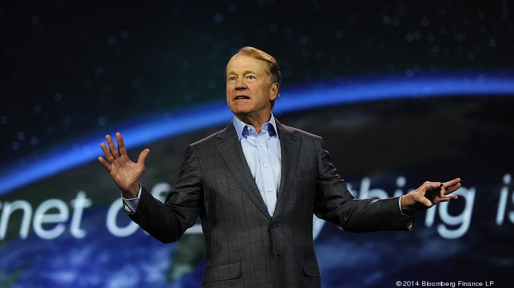 John Chambers, chairman and chief executive officer of Cisco Systems Inc.