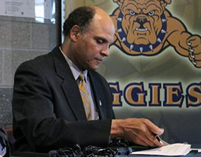 N.C. A&T Chancellor Harold Martin is pursuing a pilot effort that would allow the school to boost out-of-state enrollment.