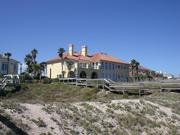 The Ponte Vedra Boulevard home listed for $7.9 million viewed from the beach.
