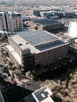 Phoenix debuts new solar arrays on city garages (Video)