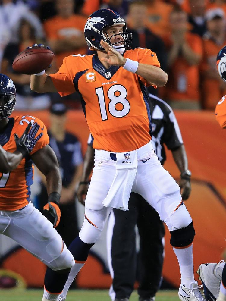 Peyton Manning will be the focus of a new digital and print ad campaign that Ogilvy & Mather will oversee for Nationwide Insurance.