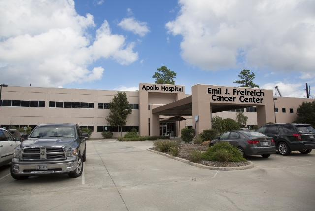 The Apollo Cancer Hospital, featuring the Emil J. Freireich Cancer Center, officially opened Dec 31. It is located at 9201 Pinecroft in Shenandoah.  Click through the slideshow for more pictures of Apollo Cancer Hospital.