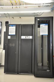 In addition to the main electrical infrastructure, the lab includes a data center.