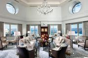 Mandarin Oriental Washington D.C.: Presidential Suite The damage: $15,000 a night The 3,500-square-foot suite of rooms includes a two-story living room, kitchen and dining room.