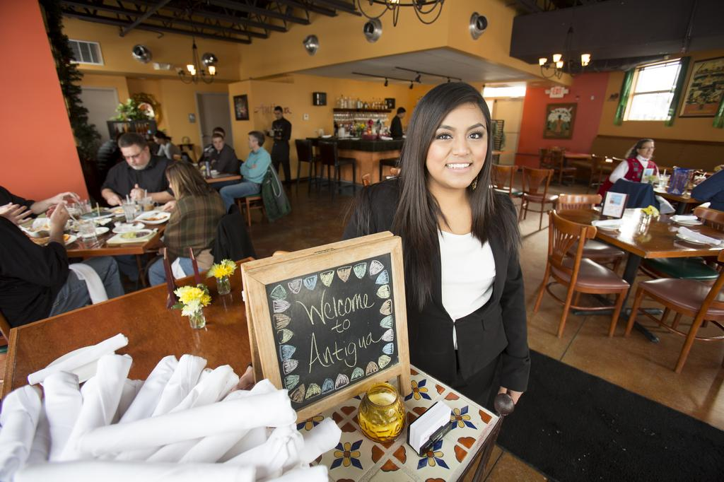 Antigua's GM Solis serves up happiness: Table Talk