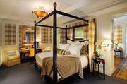 Mandarin Oriental Washington D.C.: Presidential Suite The damage: $15,000 a night The suite's master bedroom features a four-poster bed and its own private gym.