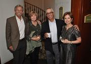 Bill and Terry Hansen of Bill Hansen Luxury Catering, Pete and Lili Izaguirre of Pantry Liquors