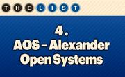 No. 4 AOS - Alexander Open Systems Inc. Local Employee Consultants: 119  Location: Overland Park For more information, check out the 2014 top information systems outsourcing firms  available to KCBJ subscribers.