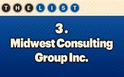 No. 3 Midwest Consulting Group Inc. Local Employee Consultants: 129  Location: Overland Park For more information, check out the 2014 top information systems outsourcing firms  available to KCBJ subscribers.