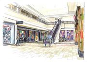 Pictured is a rendering of the completed renovation.