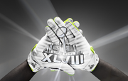 Fleece lining in the Nike Vapor Shield Glove will keep the hands of players warm.