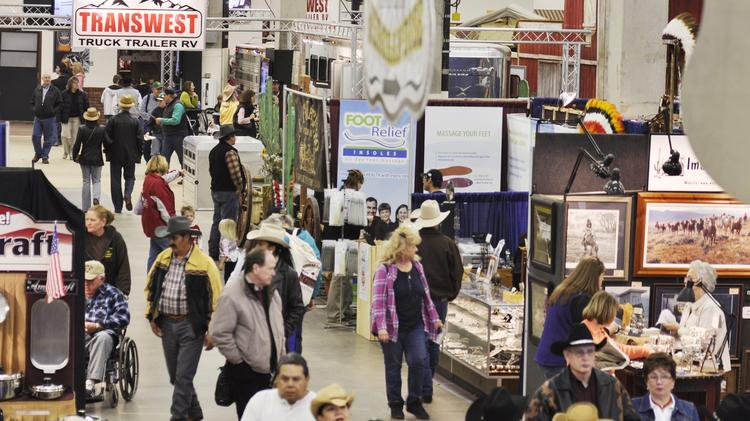 At the 2010 National Western Stock Show
