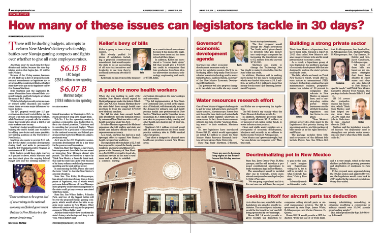 NM has more issues than legislators can solve in 30 days, but they have to try.
