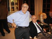 Dr. George Farha with his brother and fellow physician, Jim.