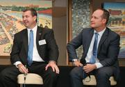 Brian Ford, COO, Tampa Bay Buccaneers, and Steve Griggs, Tampa Bay Lightning COO