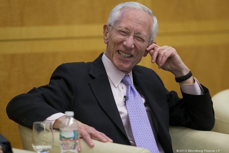 Stanley Fischer, who formerly headed Israel's central bank, also was one of Ben Bernanke's economics professors at MIT.