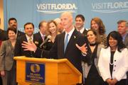 Florida Gov. Rick Scott hopes his plan to fund $100 million towards tourism will bring huge returns for the state and Central Florida.
