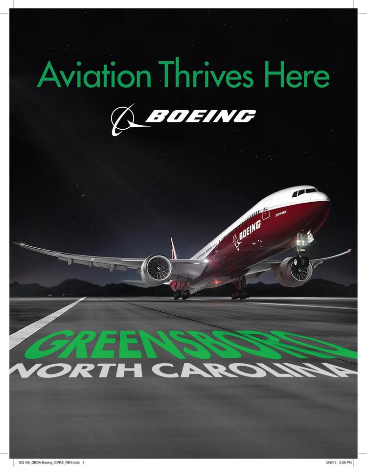 Greensboro's proposal for attracting a $10 billion Boeing facility and 8,500 jobs included providing hundreds of acres of land, site grading and rail access at no cost to the company.