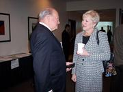 Nancy Zimpher, SUNY chancellor, and Richard Usas, president of Preferred Solutions in Glenville. Zimpher spoke about how universities are major drivers of economic growth.