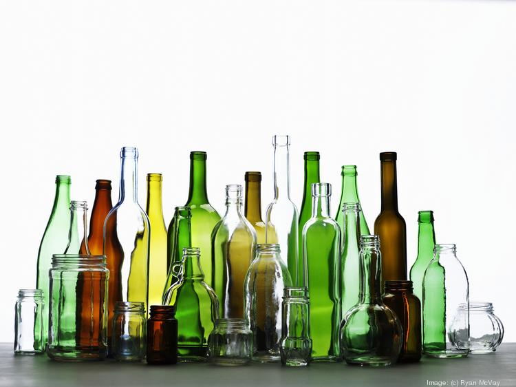 Trash type: Glass containers Percentage of landfill waste: 2.7%