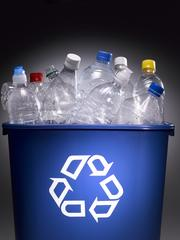 Trash type: Plastic Percentage of landfill waste: 17.1% (No. 2 plastics like milk jugs can sell for $500 a ton)