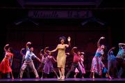 Motown: The Musical Pictured: Saycon Sengbloh as Martha Reeves (center) and cast  July 21-26, 2015