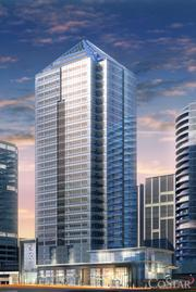 Monday Properties broke ground in October 2010 on 1812 N. Moore St., a 581,000-square-foot skyscraper in Rosslyn. It is awaiting its first office tenant.