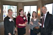 Zibby Koppelman, from left, Nikki Pollet, Brook Jones and Lin Peacock at the event.