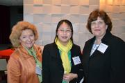Debbie Thomas of Airlie, from left, Jennie Perley of Harbourtowne Golf Resort and Conference Center, and Cheryl Alfes.