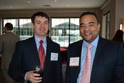 Mark Lewandowski, left, of First Financial Group, and Richard Appling of BB&T.