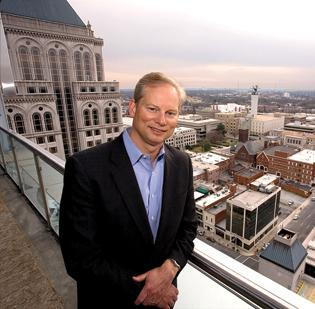 Roy Carroll of The Carroll Cos. is planning a mixed-use project in downtown Greensboro.