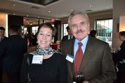 Melissa Voight, left, of TBB Investment Services, and Bernie Cohen of Insurance Solutions.