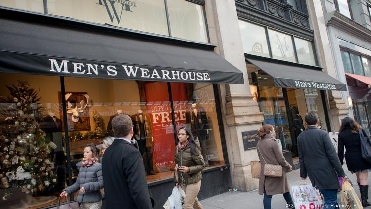 The Men's Wearhouse has not given up its pursuit of Jos. A. Bank. Photographer: Craig Warga/Bloomberg