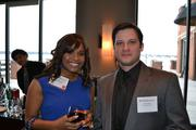 Samantha Powell and Justin Smith, both of Fanelli McClain.
