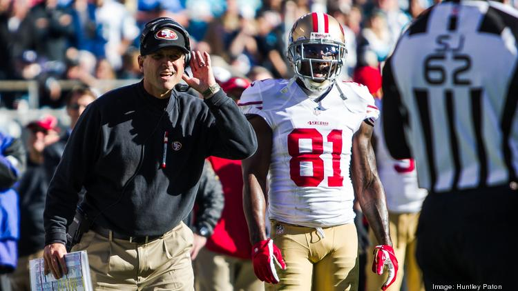 San Francisco 49ers head coach Jim Harbaugh will compete against his brother, John Harbaugh, when the 49ers come to Baltimore for a preseason game in August.
