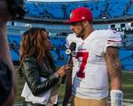 49ers <strong>Colin</strong> <strong>Kaepernick</strong> is winning on Madison Avenue