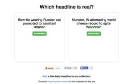Can you guess the real headline?