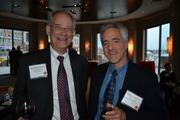 Lin Peacock, left, of Nexus Direct, and Bryant Thomas of Adult Companion Care, Inc.