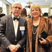 Glen Ayers (left), with Langley & Banack, was honored for Lifetime Achievement. He is with his wife.