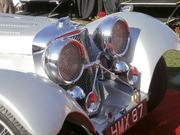 """Class 2 winner (pre-war European sports and racing): 1938 Jaguar SS100 3.5-liter, owned by Philippe Reyns of Chandler. The 1938 was the first Jaguar model, and Reyns' vehicle is the only one that was painted """"Snow Shadow Blue."""""""