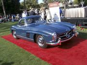 Class 6 winner (post-war Mercedes-Benz): 1957 Mercedes-Benz 300SL Roadster, owned by Grant & Judy Beck of Scottsdale and Seattle.