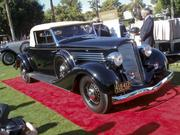 Class 10 winner (full classic American open): 1934 Buick Convertible Coupe Series 96-C, owned by Lee Gurvey, Scottsdale. Only 68 of these were made.