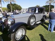 Class 11 winner (full classic European): 1925 Hispano-Suiza H6B Cabriolet de Ville, owned by Donald Nichols of Lompoc, Calif. This car also was voted Best in Show.