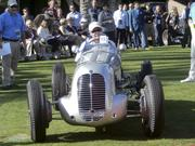Winner, 100th anniversary of Maserati: 1937 Maserati 6CM Grand Prix Car, owned by Bill & Linda Pope of Scottsdale. One of 27 made, this one participated in several European races and won two.