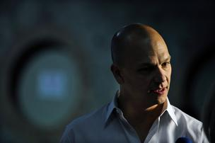 Tony Fadell, chief executive officer of Nest Labs Inc., speaks during a Bloomberg Television interview at the Dublin Web Summit in Dublin, Ireland, on Wednesday, Oct. 30, 2013.