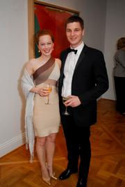 Each May, The Phillips Collection Annual Gala attracts the diplomatic community, politicians, businesspeople and others who love dining in the museum's decorated galleries. Meredith and David Pfeffer at The Phillips Collection Gala 2012.