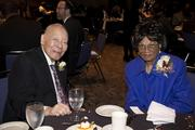 Martin Luther King Jr. dinner and celebration event co-chairs Jerry Enomoto and Dr. Dorothy Enomoto pose at the dinner.