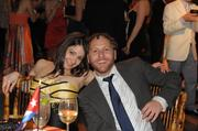 Frances Colon and Mike Masserma at the 2012 Phillips Collection Annual Gala afterparty